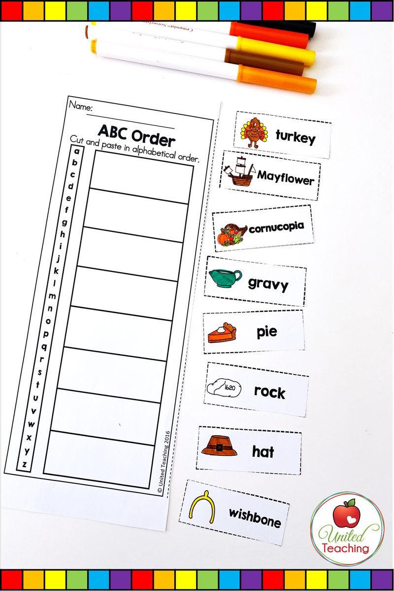 Thanksgiving Math And Literacy Activities 1st Grade United Teaching Literacy Activities Thanksgiving Math Literacy Lessons [ 1198 x 800 Pixel ]