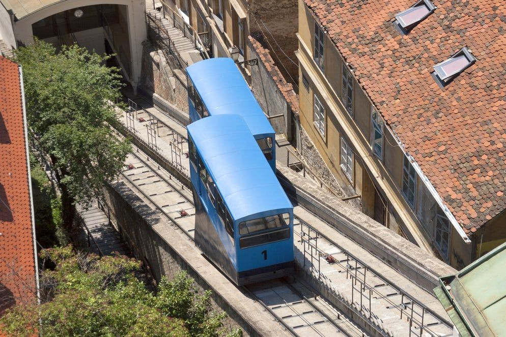 Zagreb Public Transport Follow The Blue Vehicle Public Transport City Of Zagreb Zagreb