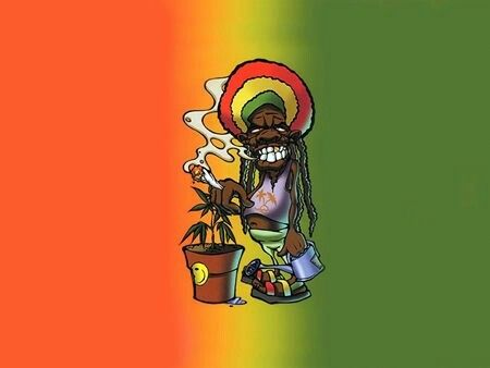 One Love HD Quality Picture Rasta Flag Wallpapers