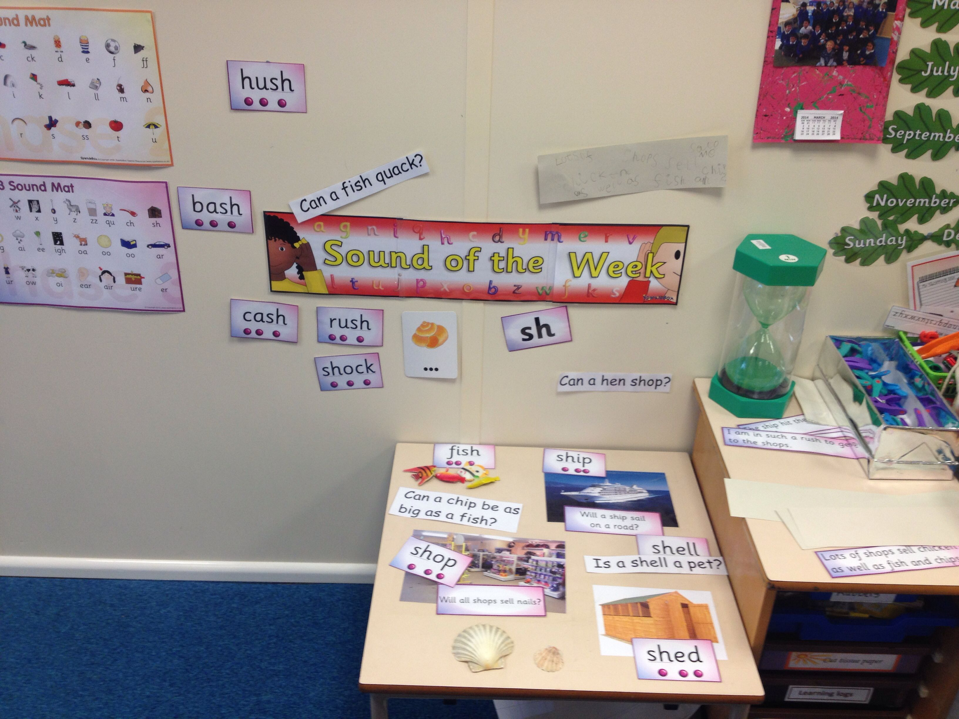Sound of the week display | Phonics | Pinterest | Phonics ...