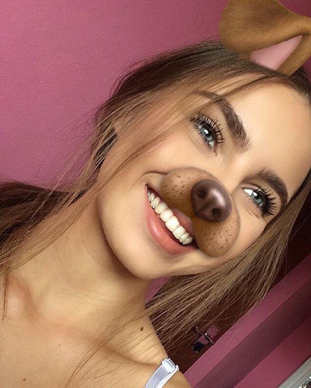 Pin by мαdι on beauty   Snapchat girls, Pretty selfies