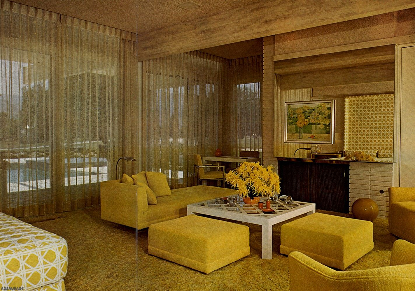 Design 1960 1970 1960s decor modern interior design interior styling interior
