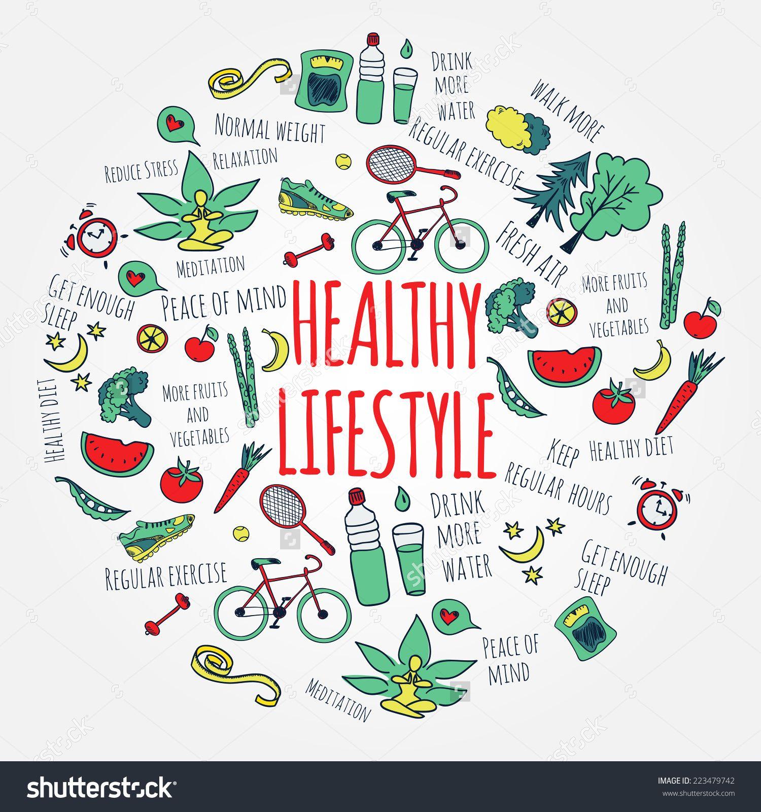 healthylifestyleclipart8.jpg (1500×1600) Healthy