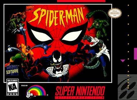 Spider-Man SNES Super Nintendo | Video games | Nintendo