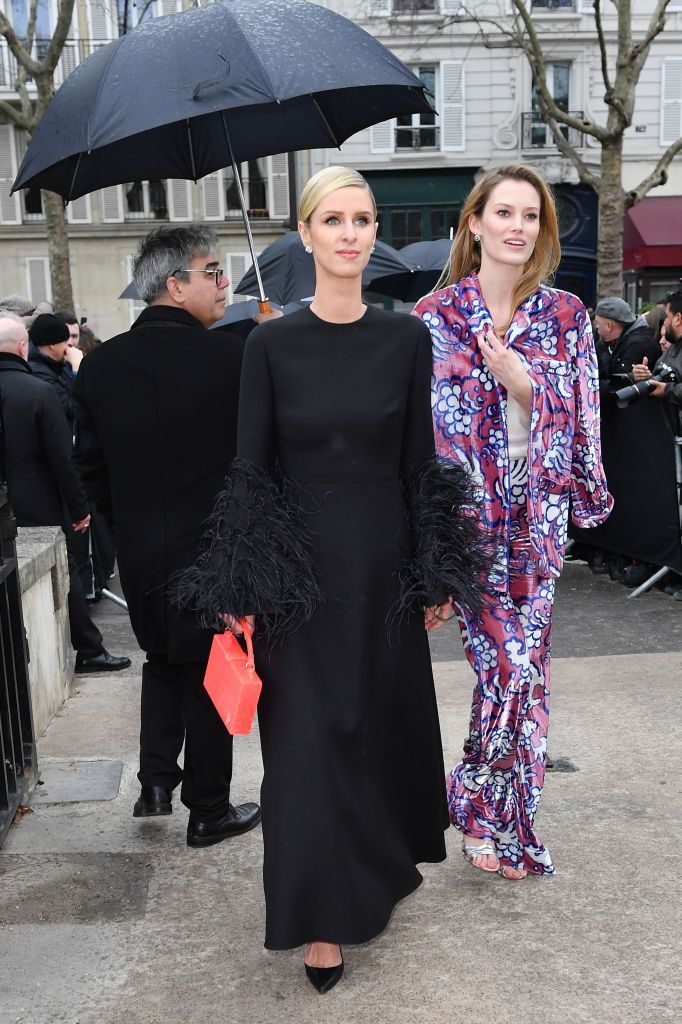 Nicky Hilton attends the Valentino show as part of the
