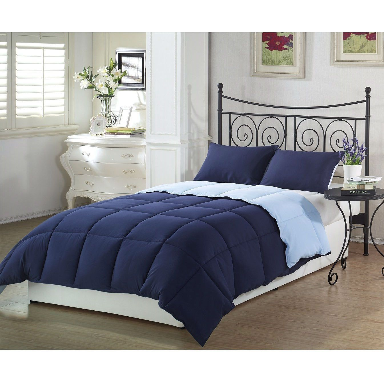 ideas best sky king navy set interior sets target with blue comforter design on incredible solid comforters linen bed size