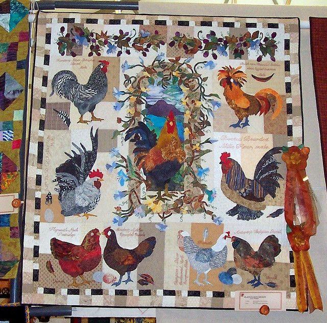 Joyce Loves Chickens Quilt By Joyce Walton Chicken Quilt