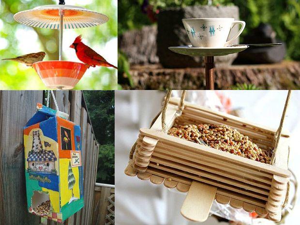 Le Mangiatoie Per Uccelli Fai Da Te
