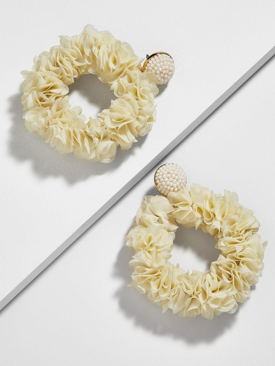 Camellia Flower Hoop Earrings With Images Camellia Flower Hoop Earrings Camellia