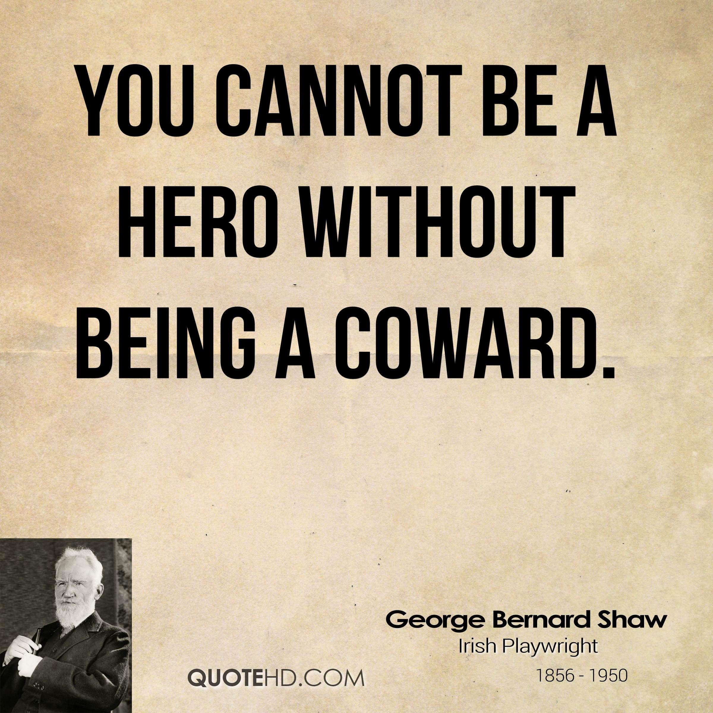 Beautiful Quotes About Not Being A Coward