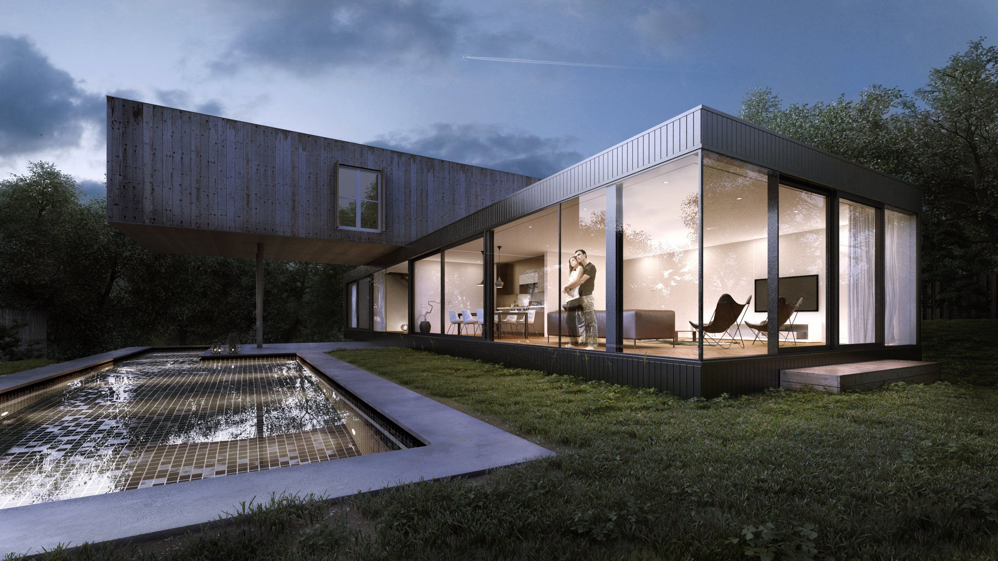 exterior house designs 3d max. Title  Crossed House Name Loukas Koutsouris Country Netherlands Software 3ds max