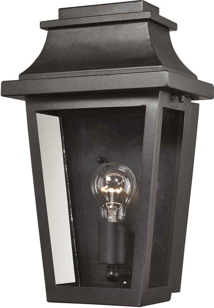 inchh light outdoor wall lantern aged silver pinterest
