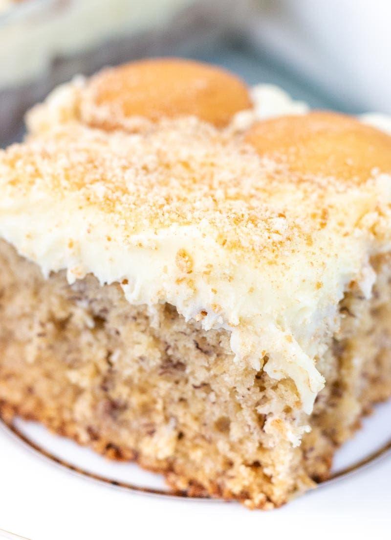 banana cream pudding cake recipe