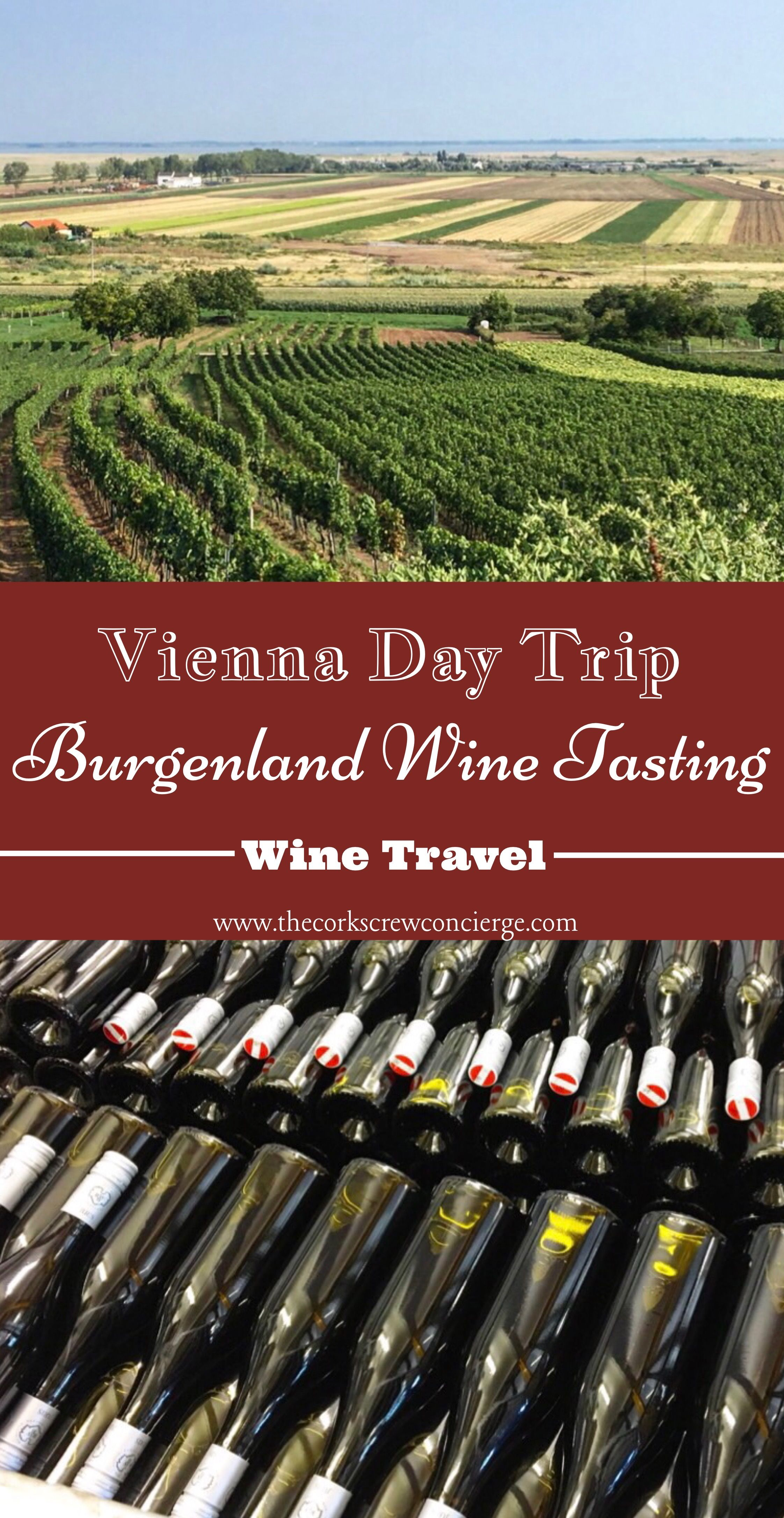 The Perfect Vienna Day Trip Burgenland Wine Tasting The Corkscrew Concierge Day Trips From Vienna Wine Travel Day Trip