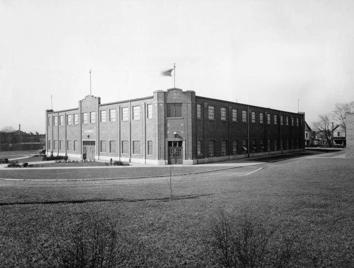 The Anderson High School Gymnasium WigWam AndersonIndiana Circa 1940