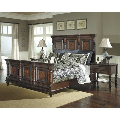 Signature Design By Ashley Key Town Panel Customizable Bedroom Set