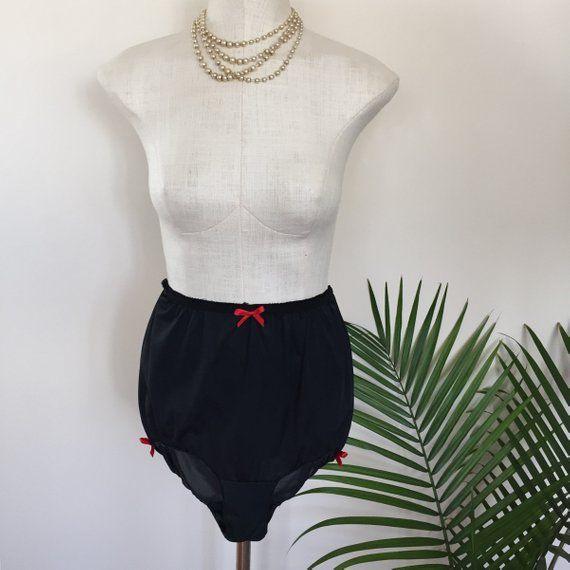 GENE - Vintage Deadstock High Waist PinUp Panties by Mz Jones Boudoir  (named for Gene Laverne) 7c1af57b8