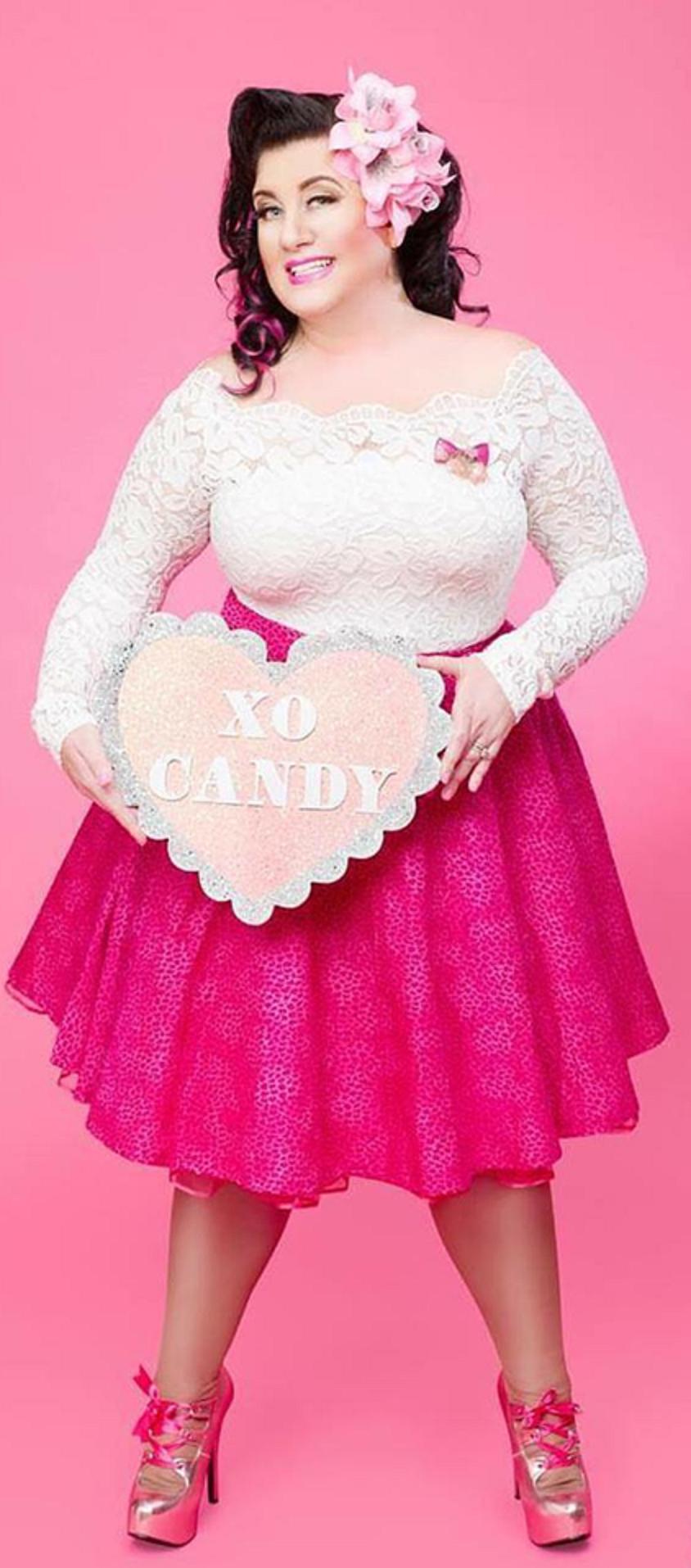 Candy hot bbw