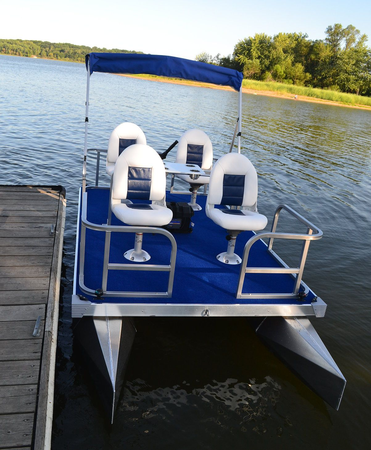 Mini Pontoon Boats Small