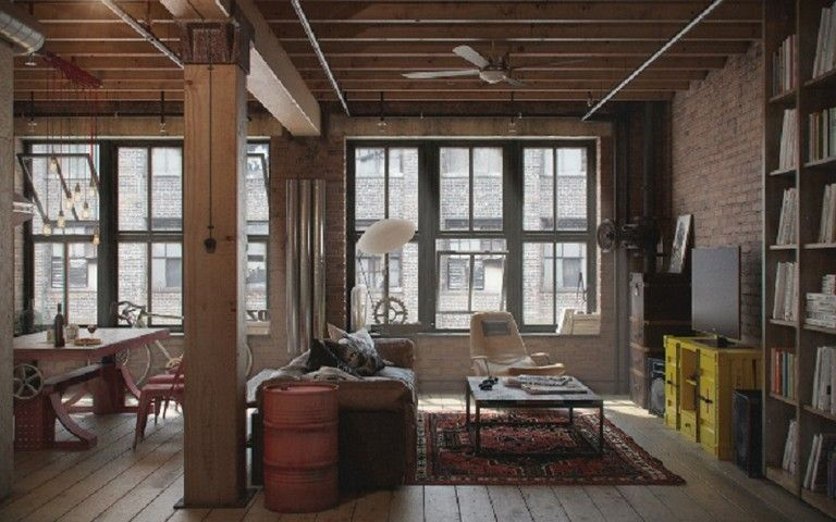 Simple And Crazy Ideas Industrial Closet Basements Industrial