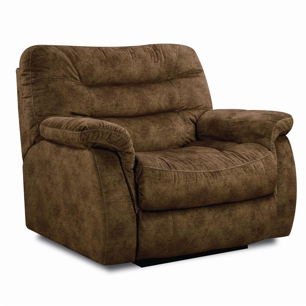 Extra Long Leather Sofa For Sale: Astro Snuggler Recliner By Lane