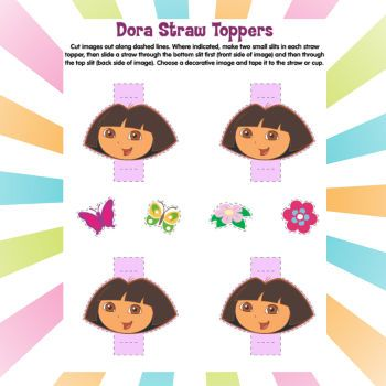 Pin by TT on Dora party Pinterest Party activities and Nick jr