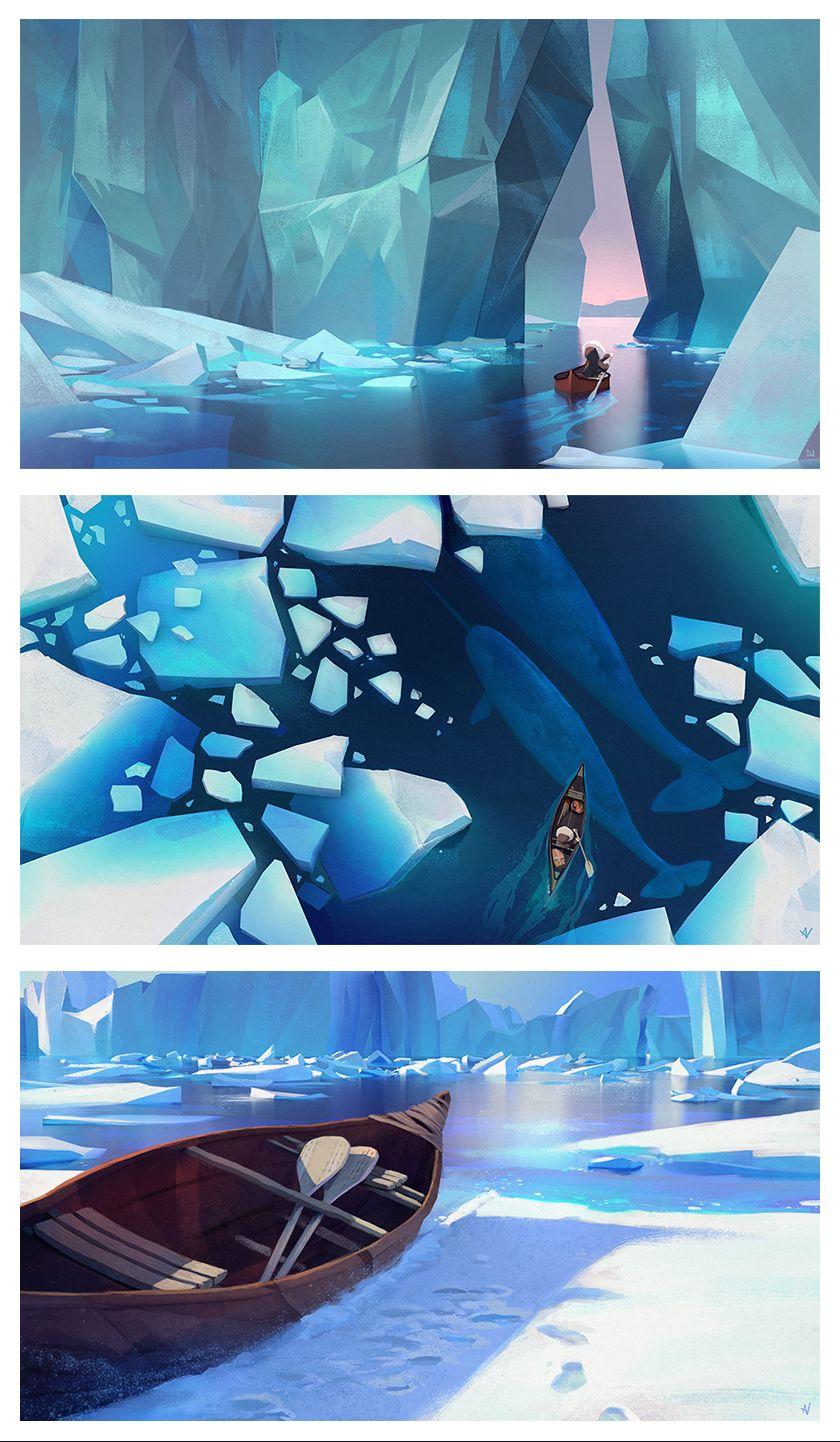"""""""portfolio"""" Game concept art, Landscape concept"""