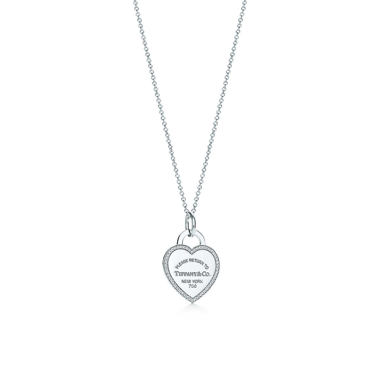 Luxury Jewelry Gifts Accessories Since 1837 Necklace Heart Tag Tiffany Co