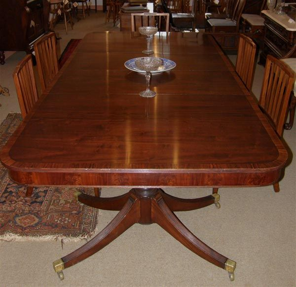 Antique Mahogany Dining Room Furniture | Mahogany Dining Table (SOLD ...