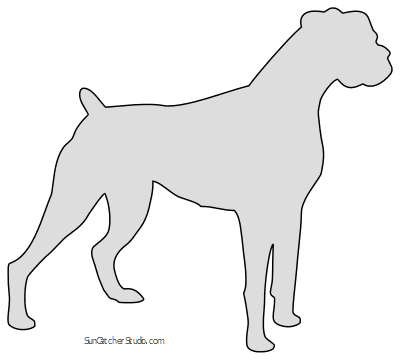 Dog Patterns Stencils And Silhouettes Free Jpg Png Svg Dog Silhouette Dog Stencil Boxer Dogs Art