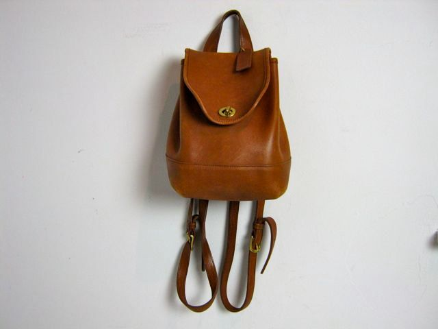 coach leather backpack outlet 226w  coach vintage backpack