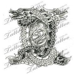 tattoo designs on pinterest gemini tattoos and body art and dragon dragon and gemini tattoos. Black Bedroom Furniture Sets. Home Design Ideas