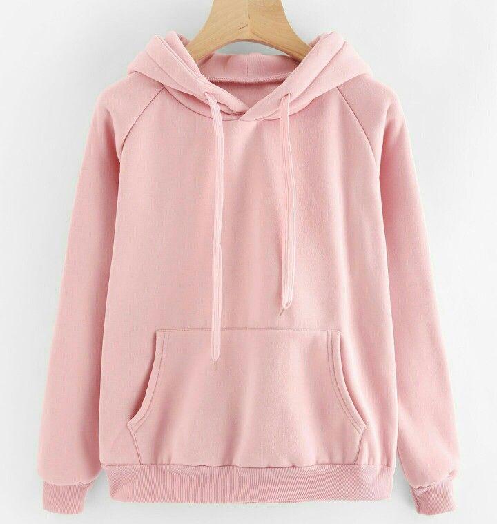 121deaaa98 Pastel Pink Hoodie Roupas De Frio Feminina