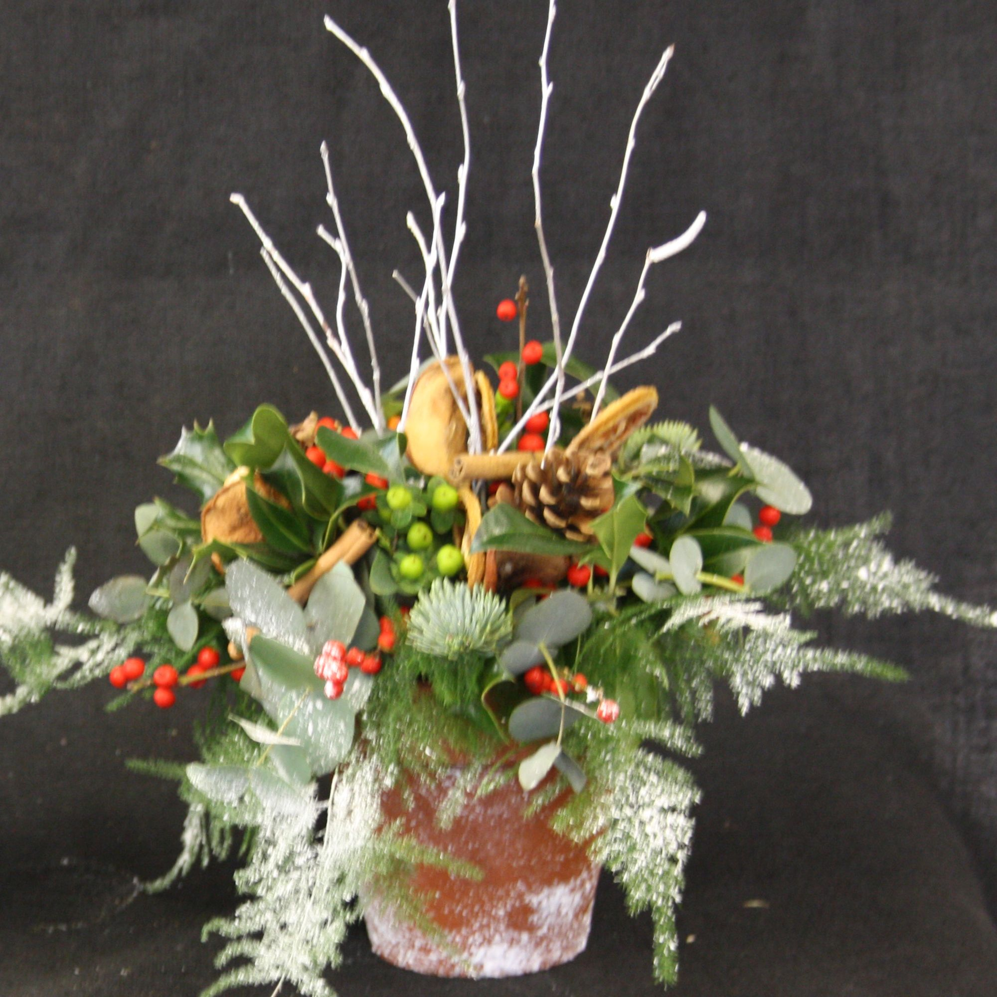 Fresh Flower Christmas Arrangements Christmas