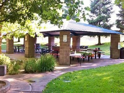 City Park Pavilion at Lions Park in  A perfect place for your group picnic or outing. Located adjacent to the Folsom Zoo, the pavilion has 2 built-in barbecues and seating for 120. Water and electrical outlets are also available.  For more information, or to reserve the City Park Pavilion, call 355-7299.