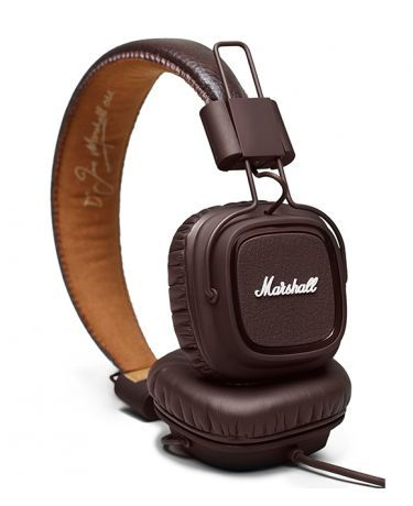 marshall major brown 79 ttc casque audio by. Black Bedroom Furniture Sets. Home Design Ideas