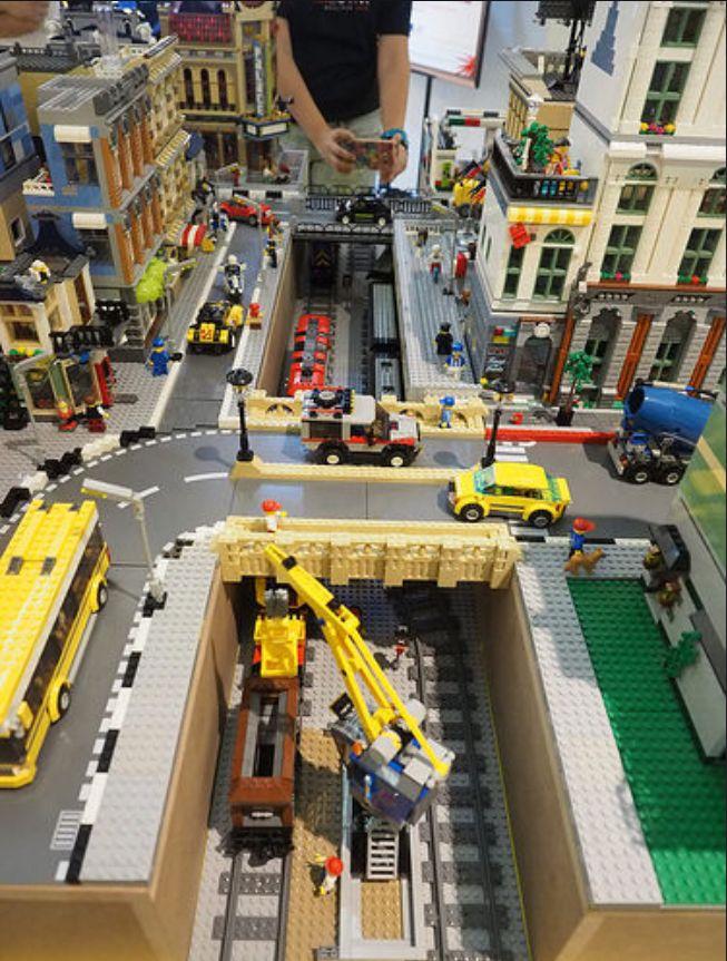 Pin Von Michael Bohm Auf Lego Haus Lego Lego Eisenbahn Lego