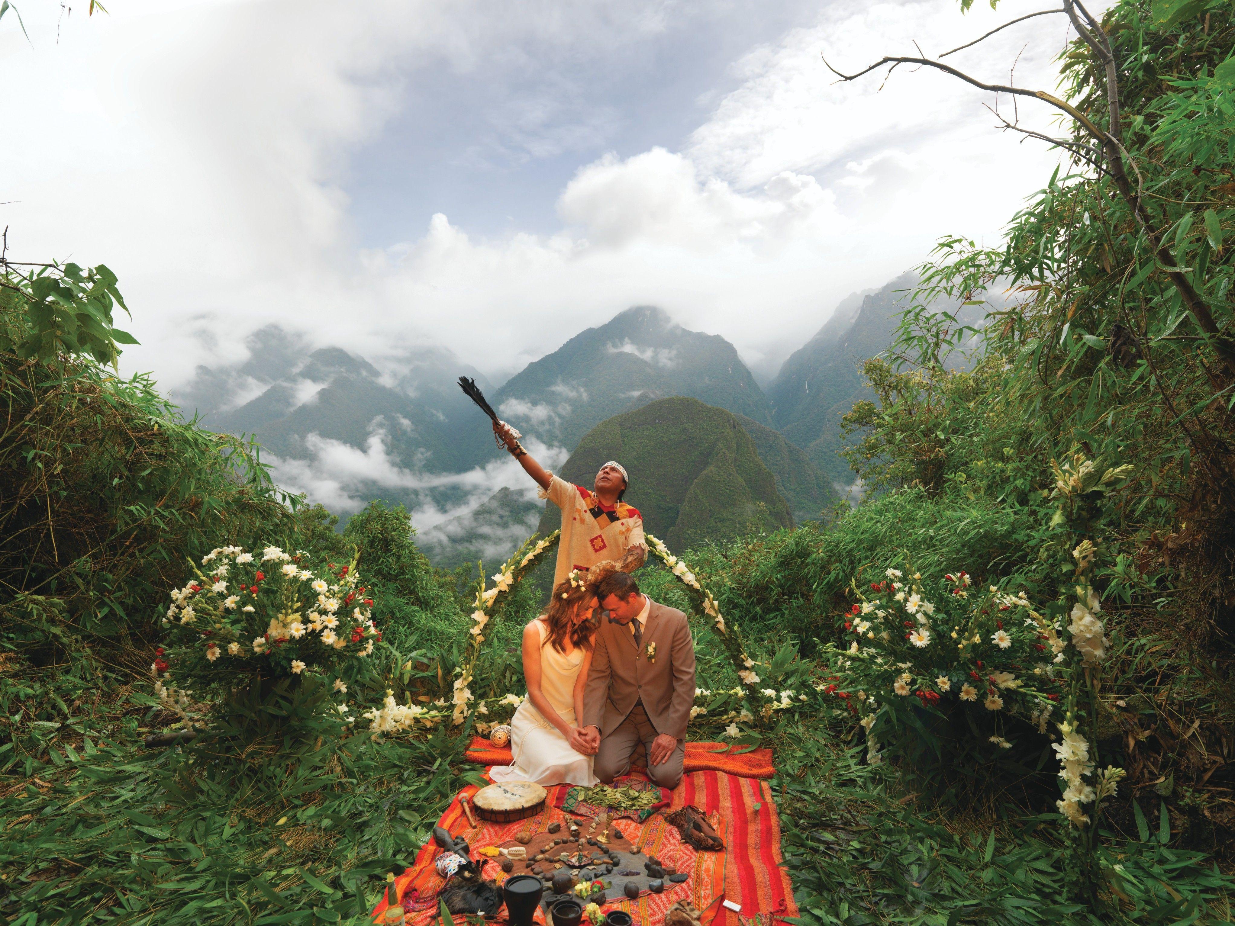 Machu Picchu Sanctuary Lodge Machupicchu Peru Wedding