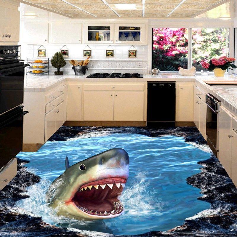 Env o gratis tibur n 3d piso pintura engrosada for Suelos para banos antideslizantes