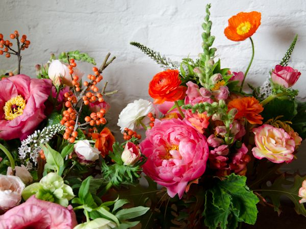 Love These Colors Of Poppies Peonies Ranunculus Snapdragons And Seasonal Berries Available Love Poppies Beautiful Flowers Pretty Flowers Floral