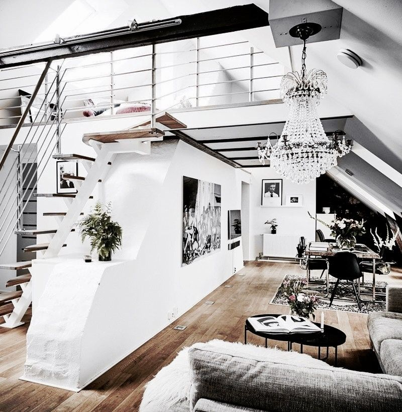 Decorating Loft Spaces: Loft House, Loft Interior Design, Loft