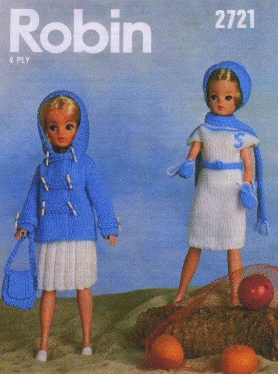 Sindy Doll Knitting Patterns Mum Made The One On The Left With