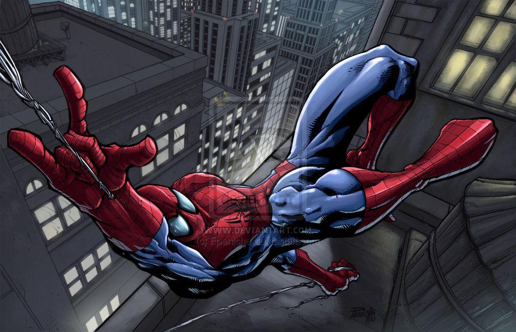 Spider-Man colored by Fpeniche.deviantart.com