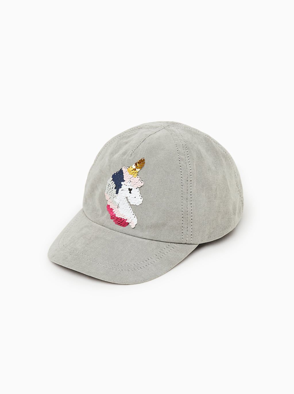 Image 1 Of Cap With Reversible Sequin Detail From Zara