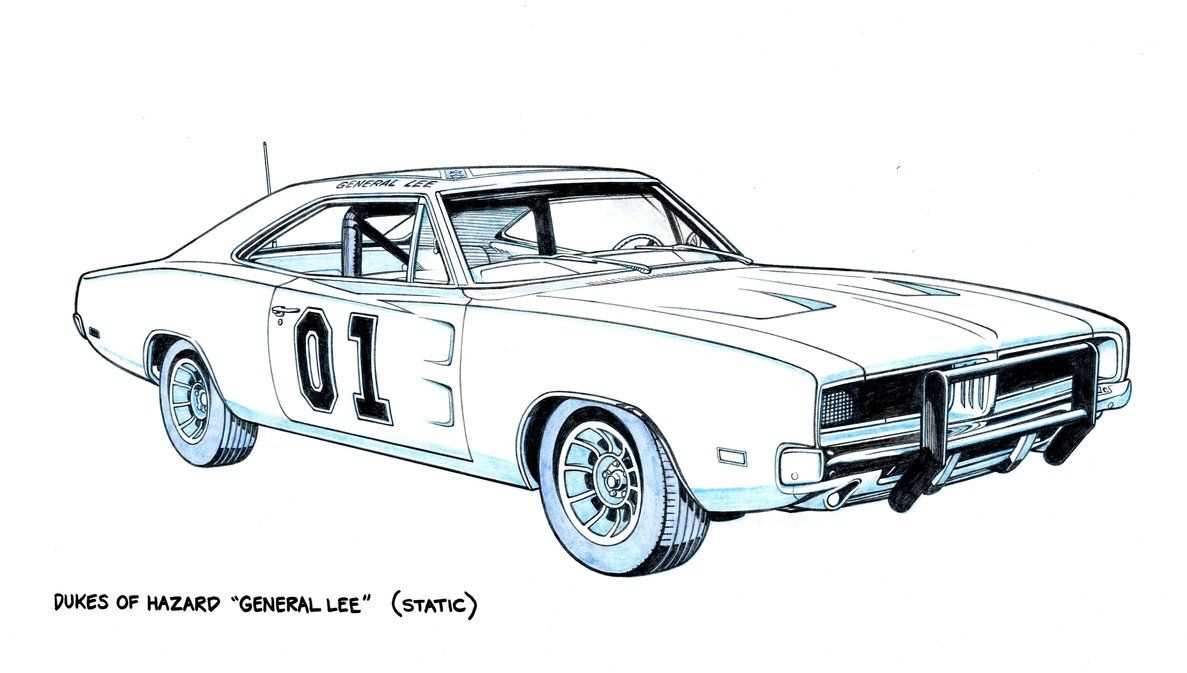 THE GENERAL LEE by Jerome-K-Moore | Jerome-K-Moore character art ...
