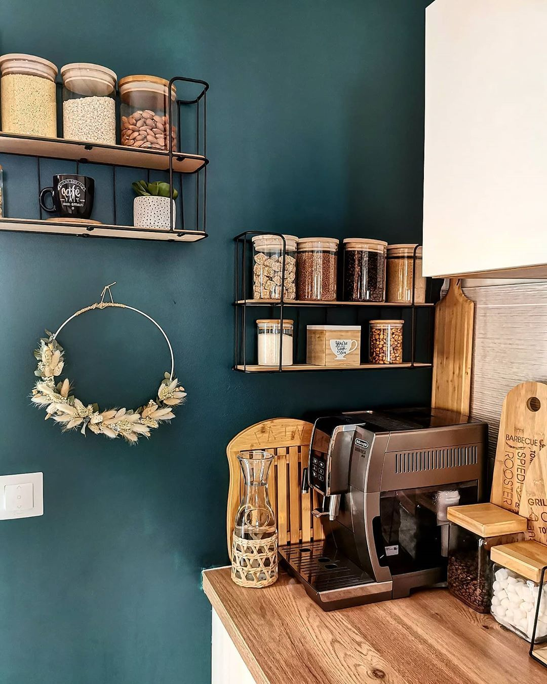 38+ Deco mur cuisine rustique ideas