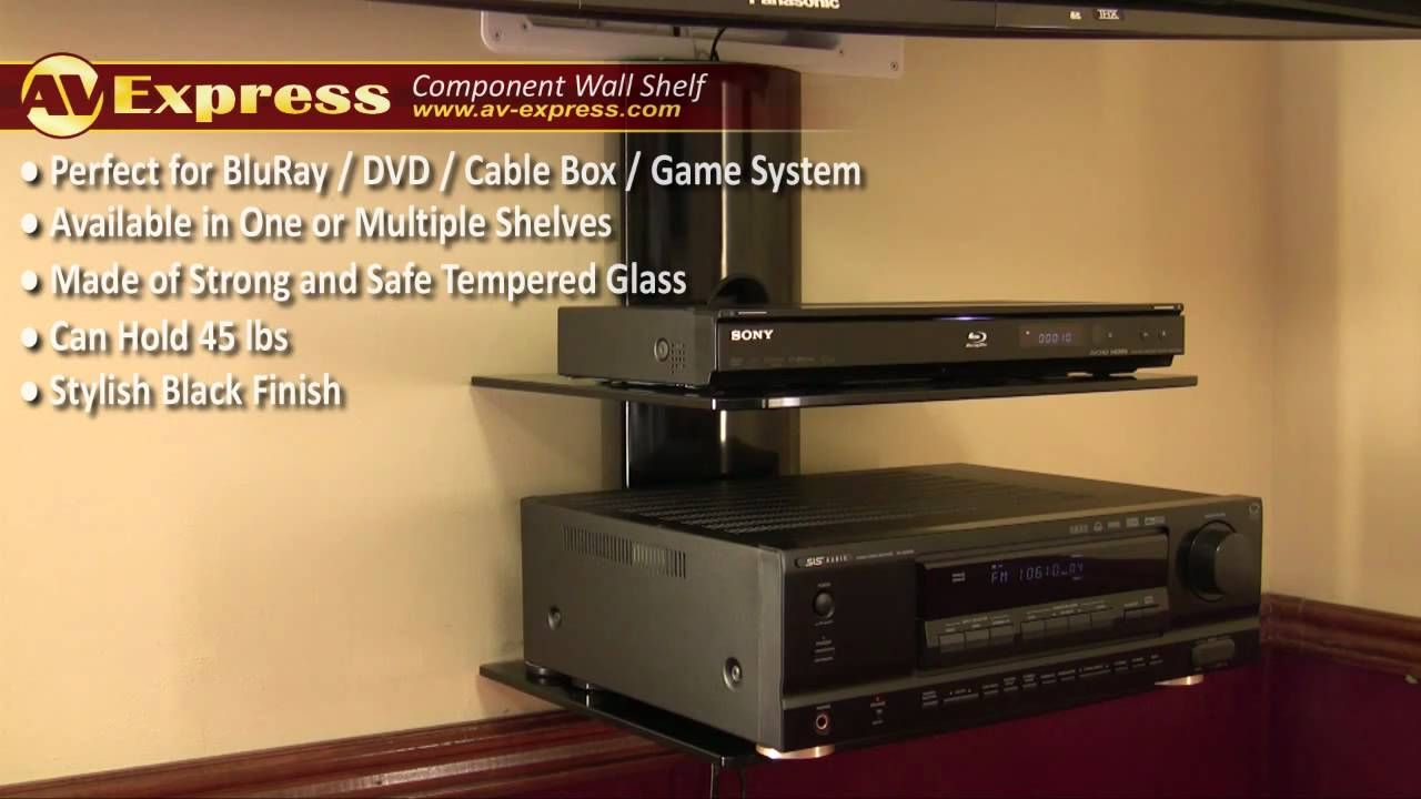 DVD Wall Mount    Component Shelf | AV Express Review