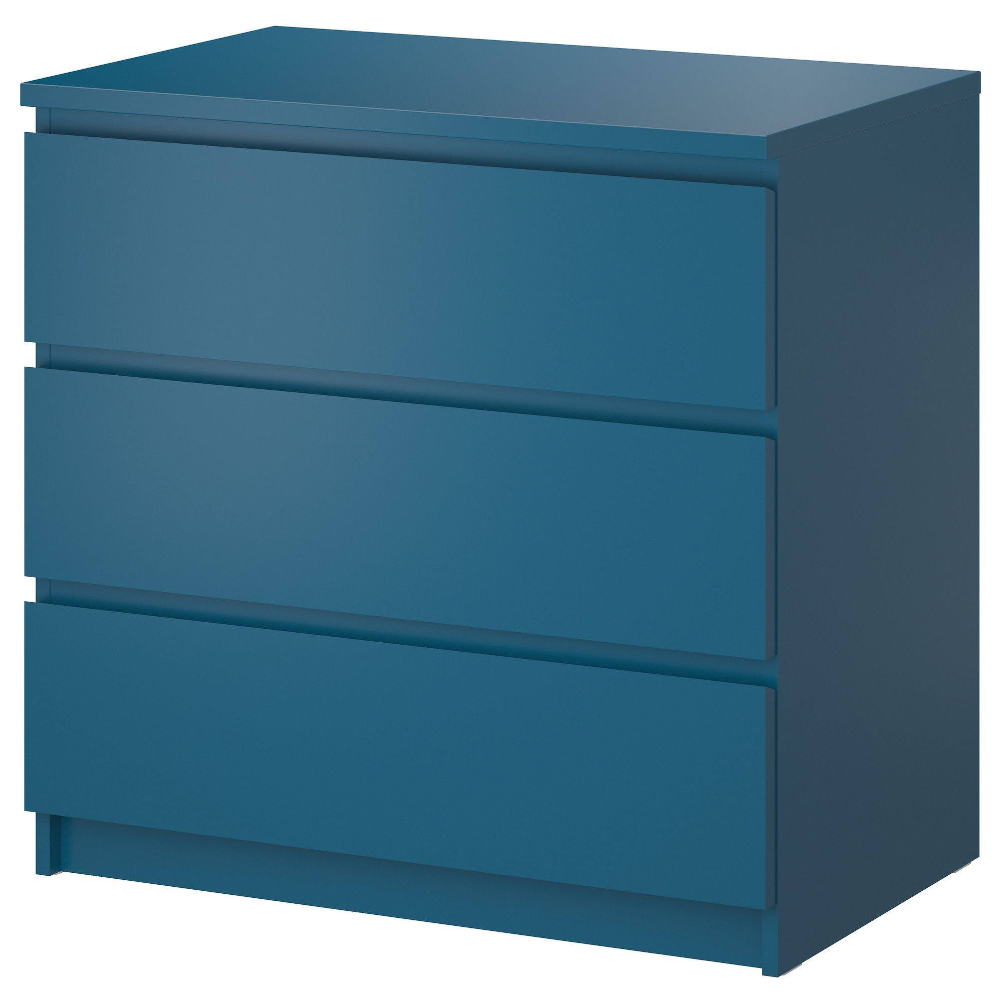 malm 3 drawer chest turquoise 31 5 8x30 3 4 ikea for in the closet girls 39 room. Black Bedroom Furniture Sets. Home Design Ideas