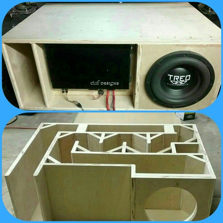 Loudspeaker design | speakers in 2019 | Subwoofer box ...