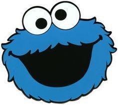 cookie monster face template clipart panda free clipart images rh pinterest com